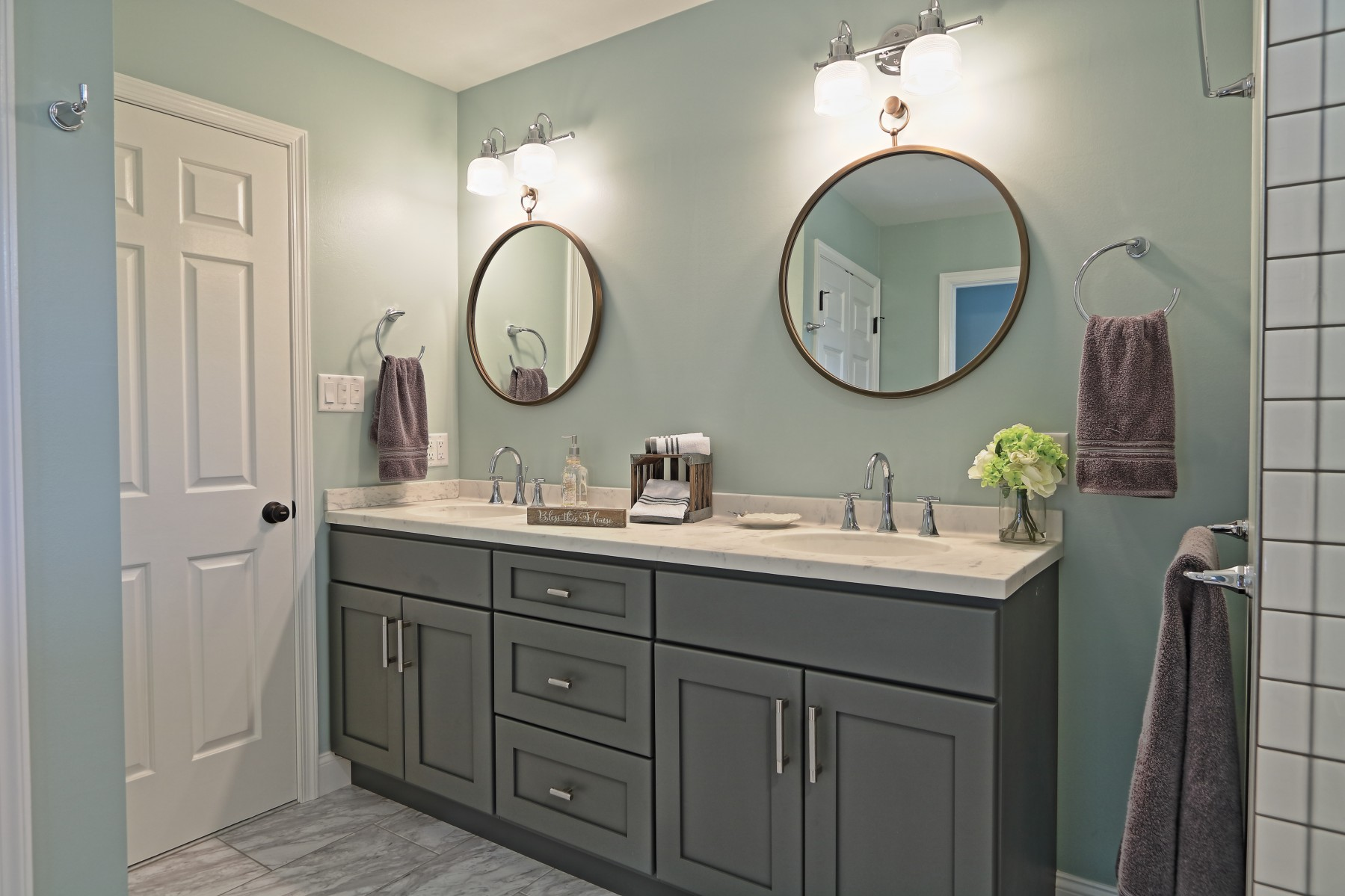 West Bayberry Master Bath - HOME-TIME Renovation, LLC